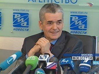 """Геннадий Онищенко. Кадр телеканала """"Россия"""", архив"""