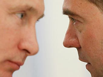 Владимир Путин и Дмитрий Медведев. Фото РИА Новости, Дмитрий Астахов