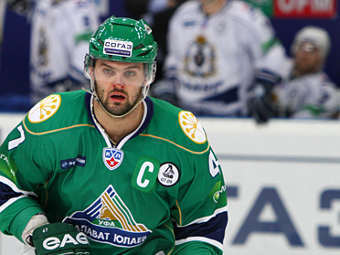 """Александр Радулов. Фото с сайта """"Салавата Юлаева"""""""