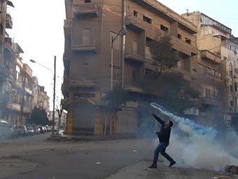 Повстанец в Хомсе. Фото ©AFP
