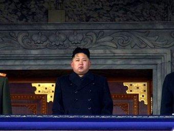 Ким Чен Ын на церемонии прощания с отцом. Фото ©AP