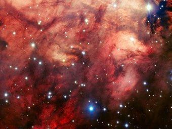 Туманность Омега. Фото ESO/VLT