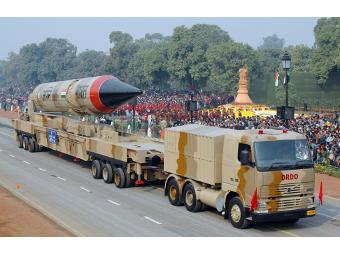 Agni-III. Фото с сайта bharat-rakshak.com