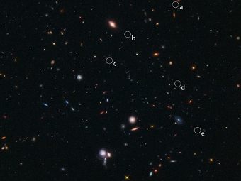 Скопление. Фото Hubble