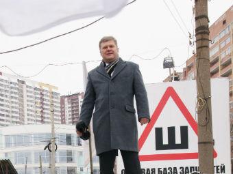 Сергей Митрохин на одном из митингов. Фото РИА Новости, Юрий Стрелец