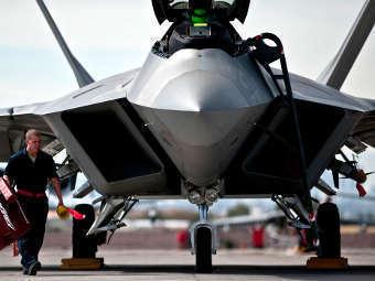 F-22 Raptor. Фото с сайта ВВС США