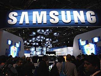 Стенд Samsung на выставке CES-2012. Фото ©AFP