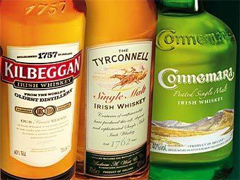 Продукция завода Cooley. Фото с сайта cooleywhiskey.com