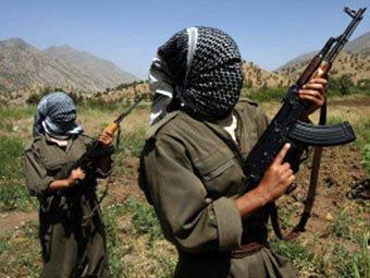 Курдские боевики. Фото ©AP