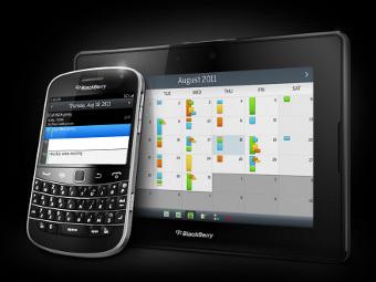 Смартфон BlackBerry и планшет PlayBook