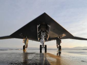 X-47B. Фото с сайта northropgrumman.com