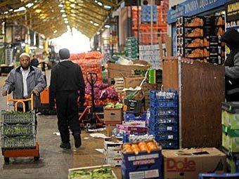 Продуктовый рынок в Лондоне. Фото ©AFP
