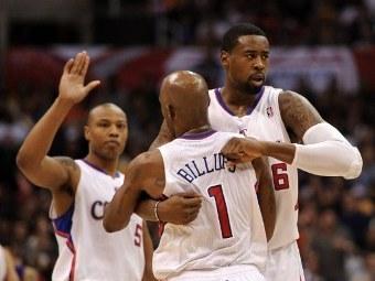 """Баскетболисты """"Лос-Анджелес Клипперс"""". Фото ©AFP"""
