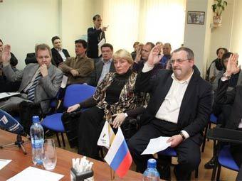"""Заседание политсовета """"Правого дела"""". Фото с сайта партии"""