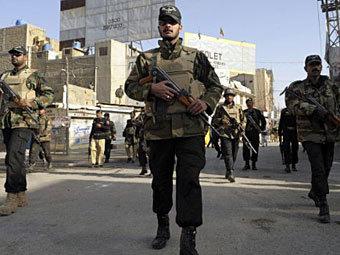 Полиция Пакистана. Фото ©AFP