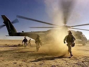 Военнослужащие коалиции в Афганистане. Фото из архива ©AFP