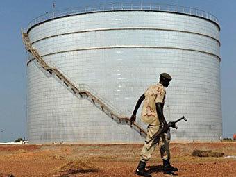 Нефтехранилище в Южном Судане. Фото ©AFP