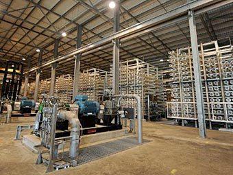 Очистные сооружения компании Thames Water. Фото ©AFP