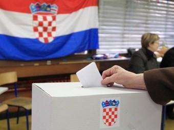 Референдум в Хорватии 22 января 2012 года. Фото ©AFP