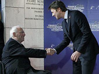 Вольфганг Шойбле и Франсуа Баруан. Фото ©AFP
