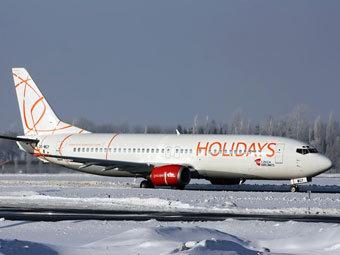 Самолет авиакомпании Holidays Czech Airlines. Фото с сайта planes.cz