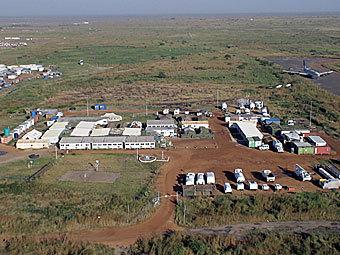 База российских миротворцев в Судане. Фото с сайта mil.ru