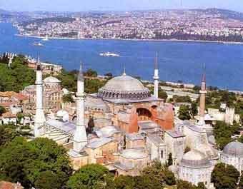 Вид на Стамбул. Фото с сайта www.etstour.ru