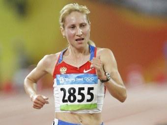 Татьяна Арясова на Олимпиаде-2008. Фото Антона Денисова, РИА Новости