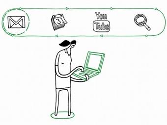 Кадр из видеопрезентации новой политики конфиденциальности