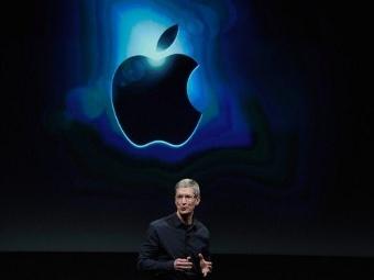 Глава Apple Тим Кук. Фото ©AFP, архив