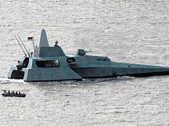 Тримаран X3K. Фото с сайта militaryparitet.com