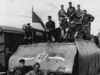 Участники войны в Хорватии 1991-1995 годов. Фото с сайта navoine.ru