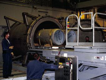 Предприятие по уничтожению химоружия в США. Фото с сайта army.mil, архив