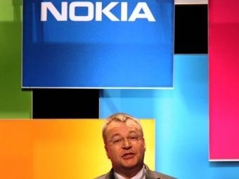 Глава Nokia Стивен Илоп на выставке CES, фото ©AFP
