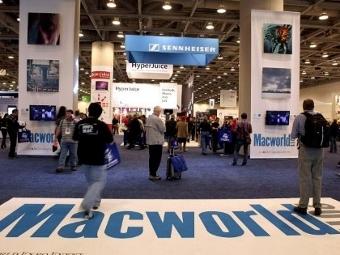 Выставка Macworld 2011, фото ©AFP