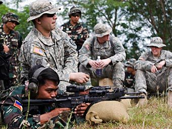 Американские военные на Филиппинах. Фото с сайта army.mil
