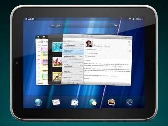 Планшет TouchPad на базе webOS