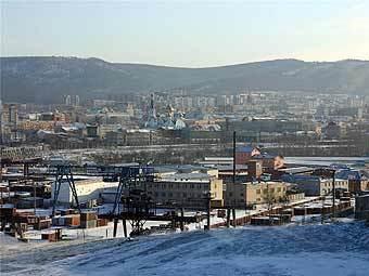 Панорама Читы. Фото с сайта russcity.ru