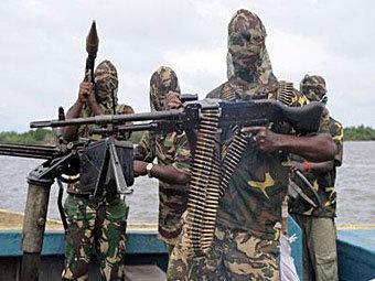 """Бойцы """"Боко Харам"""". Фото с сайта voiceofthecopts.org"""
