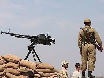 Иранские пограничники. Фото ©AP