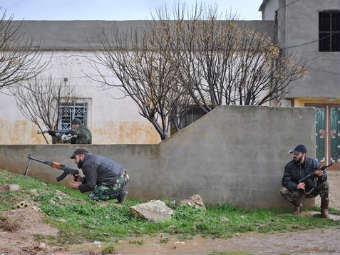 Солдаты сирийской армии. Фото ©AP