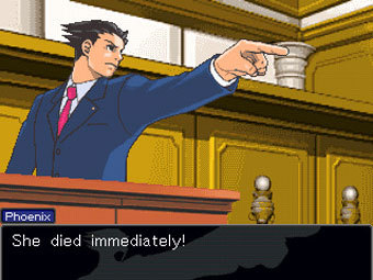 Скриншот Ace Attorney 3