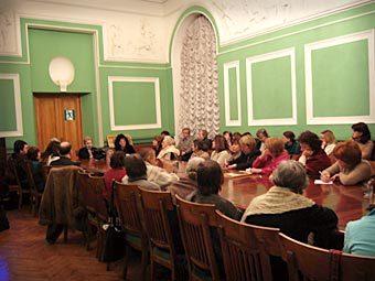 Встреча общества Данте. Фото с сайта dante-alighieri.spb.ru