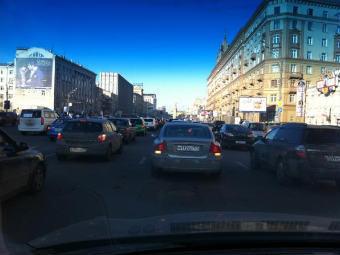 Автопробег за честные выборы. Фото Рустема Адагамова