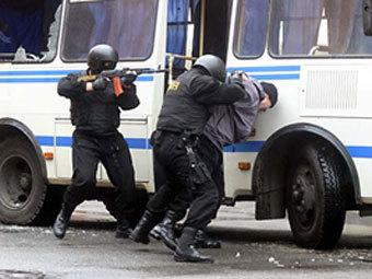 Учения курганского ОМОНа. Фото с сайта kurgan.ru