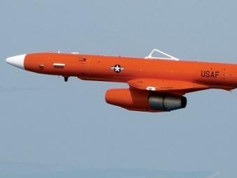 MQM-107 Streaker en vuelo.  Fotos de vectorsite.net