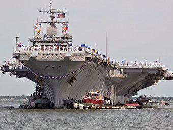 """Авианосец """"Энтерпрайз"""" прошёл подготовку к войне с Ираном"""