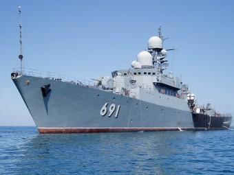 Каспийская флотилия в 2012 году получит два боевых корабля