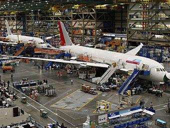 Сборка Boeing 787. Фото Reuters
