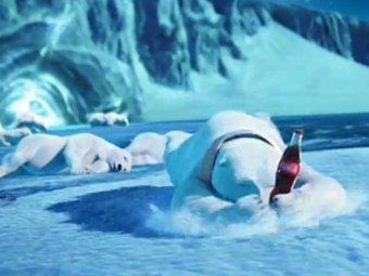 Кадр из рекламного ролика Coca-Cola для Super Bowl